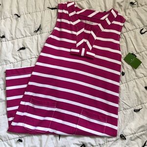 Kate Spade stripe Tropez dress size Small